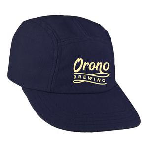 OBC Navy Runner Cap - Cream Logo