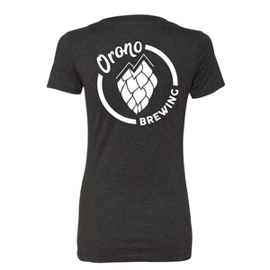 OBC Womens V-neck - Charcoal