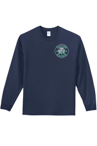 SF280 - Navy Unisex Long Sleeve Shirt