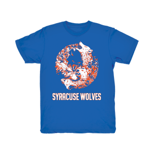 Syracuse Wolves - Cotton Short Sleeve Shirt