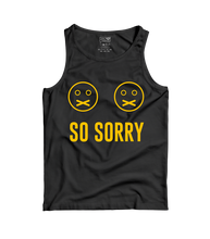 Load image into Gallery viewer, So Sorry - WMNS Black Tank Top
