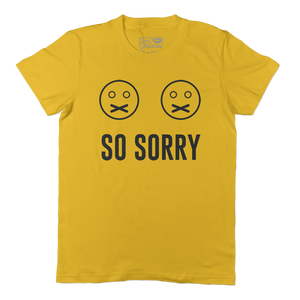 So Sorry - WMNS Gold Short Sleeve