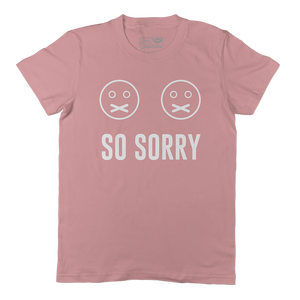 So Sorry - WMNS Mauve Short Sleeve