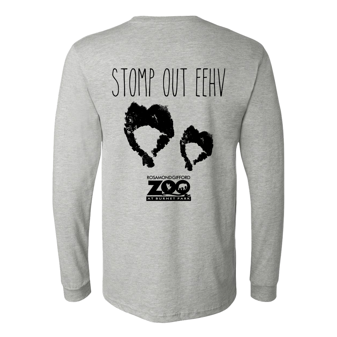 Stomp Out EEHV - Long sleeve Shirt