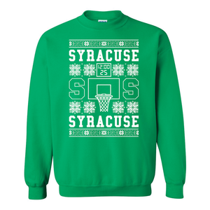 Syracuse Hoops - Ugly Christmas Sweater