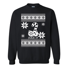 Load image into Gallery viewer, Suck It Ugly Christmas Sweater