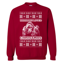 Load image into Gallery viewer, Harambe Loved Christmas Ugly Christmas Sweater