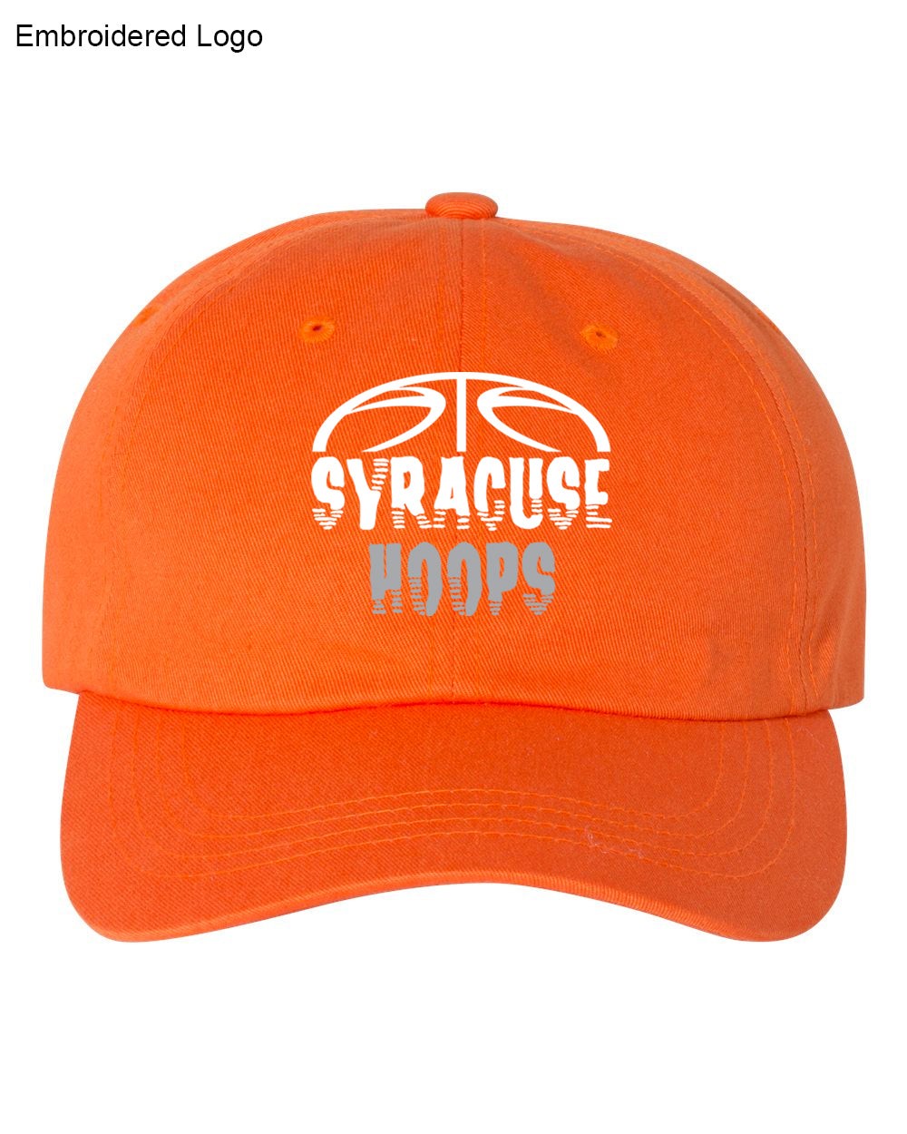 Hoops Orange Dad Hat