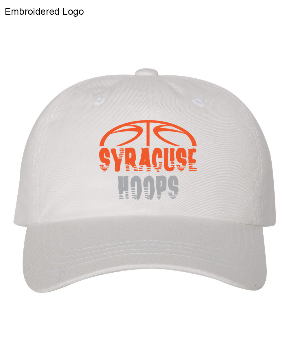 Hoops White Dad Hat