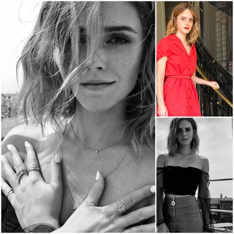 Emma Watson Wears Shiffon Co Jewelry