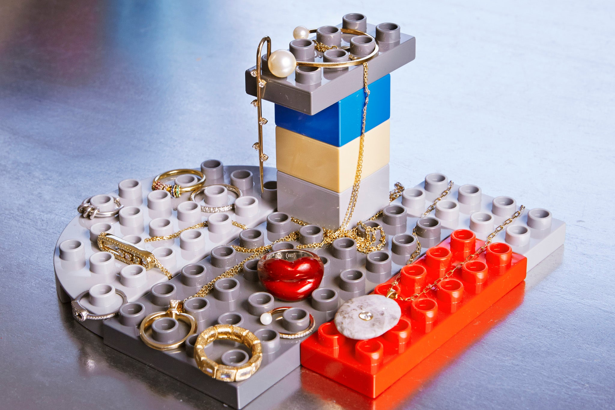 meaningful jewelry on legos