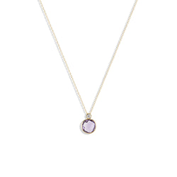 Julie's Classic Necklace in Amethyst