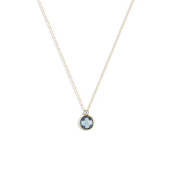 Julie's Classic Necklace in London Blue Topaz