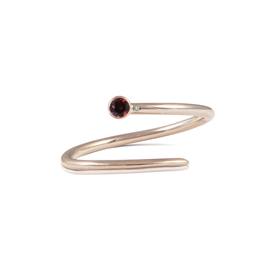 The Crimson Ring 14K Rose Gold