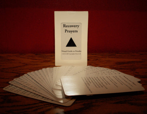 Recovery Prayer Cards