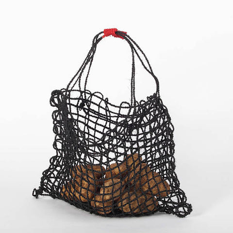 Coconut String Bag - Black