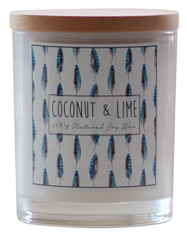 Noosa Handmade Candle - Coconut and Lime, Indigo