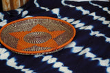 indigo throw rug handmade ethical fair trade mud cloth traditional ethnic african