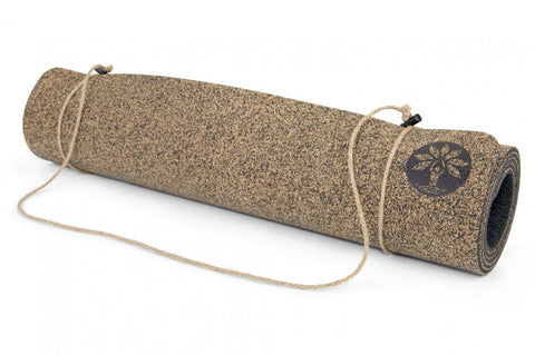 cork yoga mat handmade ethical eco friendly recycled rubber
