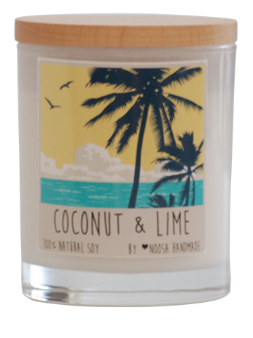 Noosa Handmade Candle - Coconut and Lime
