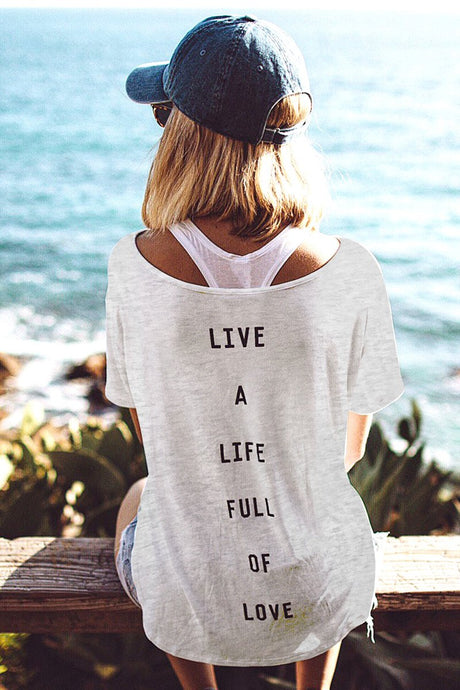 Life of Love Pocket Tee