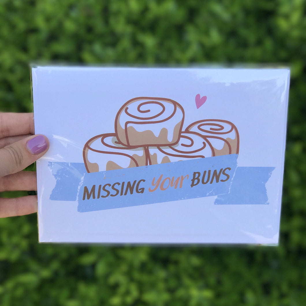 Missing Your Buns Greeting Card