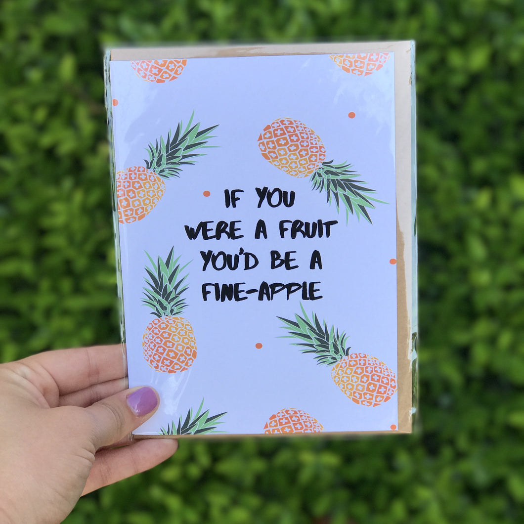 Fineapple Greeting Card