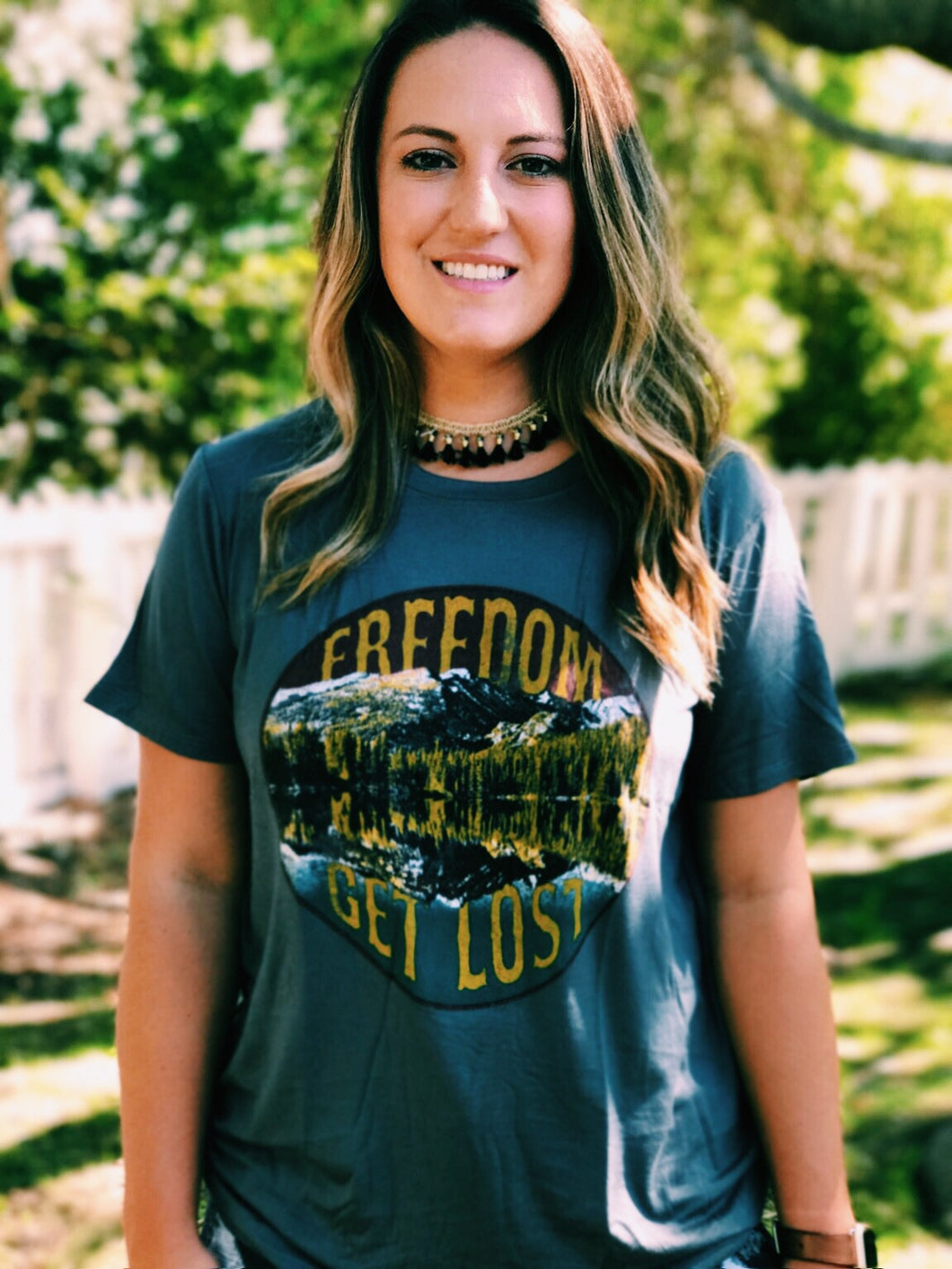 Freedom Get Lost Tee