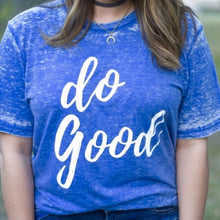 Do Good T-Shirt Blue
