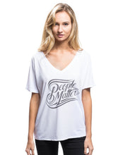People Matter V-Neck Tee
