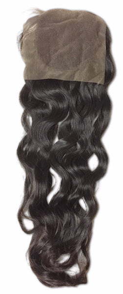 Lace Exotic Wave Closure