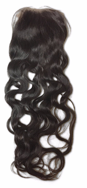 Lace Closure: Exotic Wave