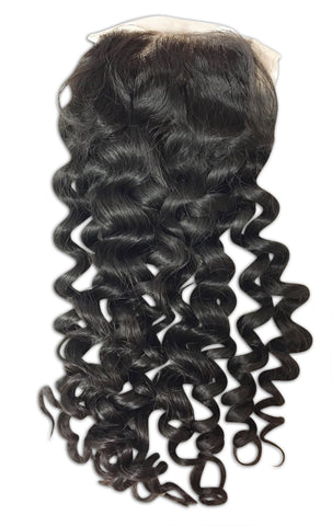 Silk Closure: Natural Curl
