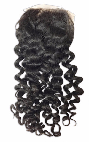 Lace Closure: Natural Curl