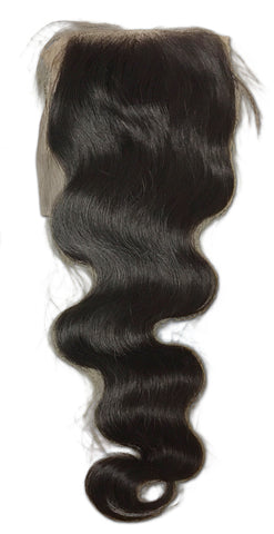 Silk Closure: Ocean Wave