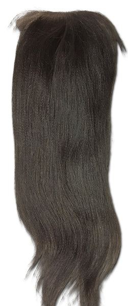 Silk Closure: Relaxed Straight