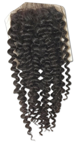 Silk Closure: Tight Curl