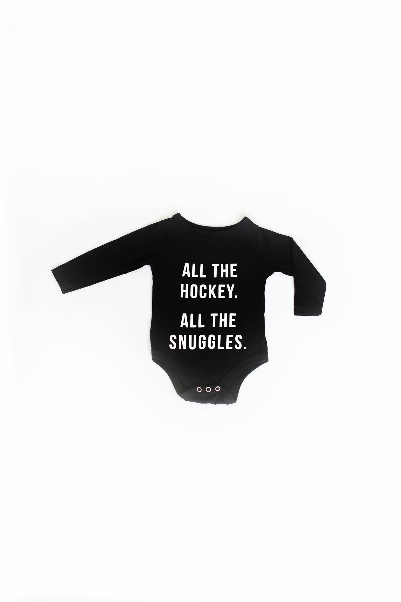 All The Hockey. All The Snuggles. Onesie