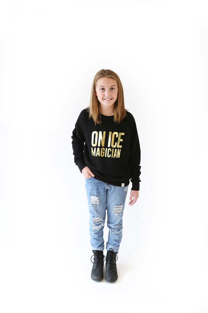 On Ice Magician Youth Sweatshirt