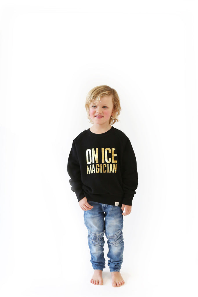 On Ice Magician Kid's Sweatshirt