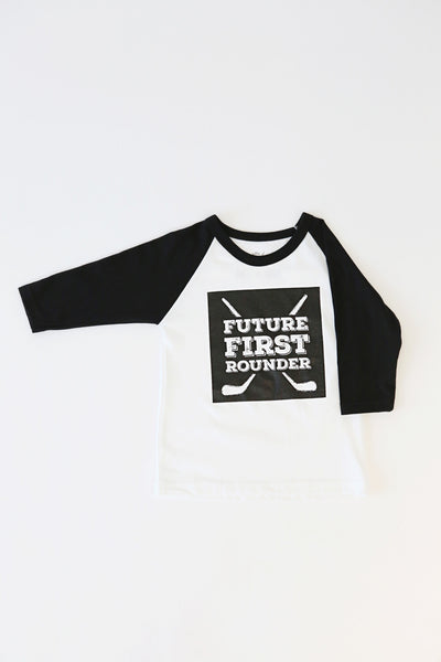 Future First Rounder Youth Baseball Tee