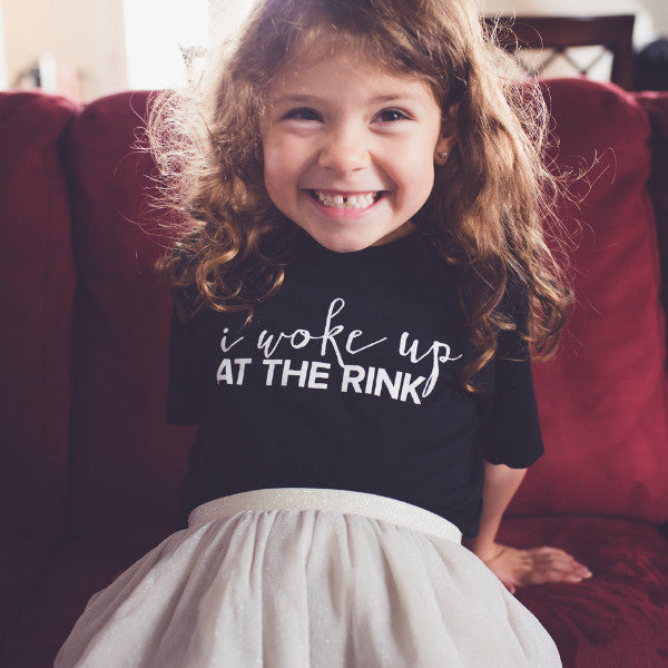I Woke Up At The Rink Kid's Tee