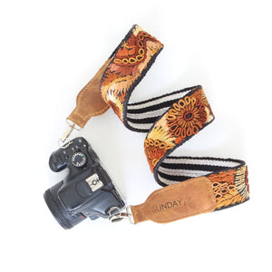 THIS WEEK  Newly Embroidered Camera Straps / Vintage Camera Straps / Santa Fe Wool Bags