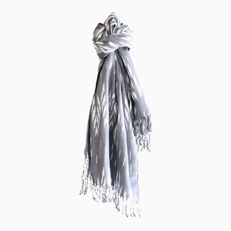 Grey Moon Tassel Throw - sundayisle
