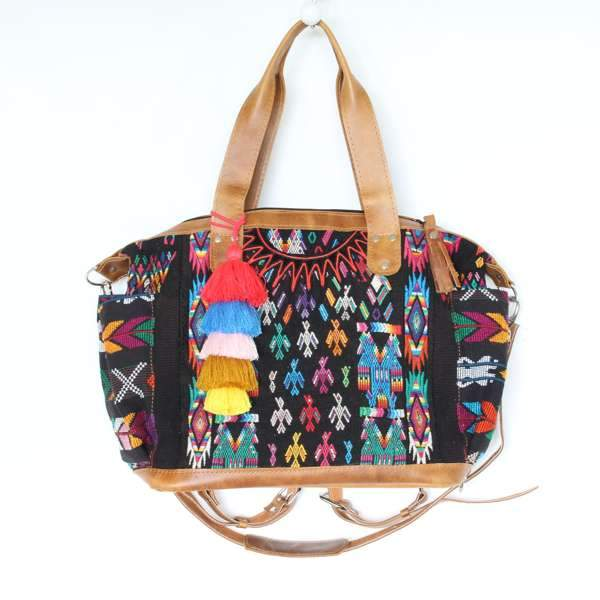 Antigua Convertible Carryall Guatemalan Bag 553