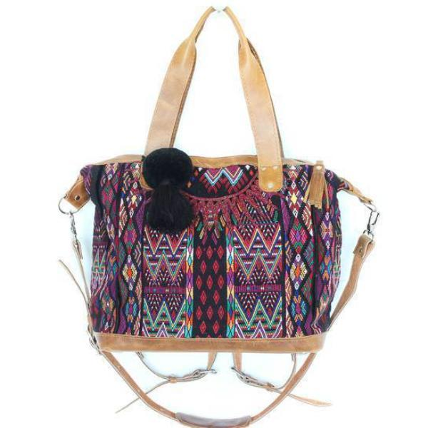 Antigua Convertible Carryall Guatemalan Bag 560