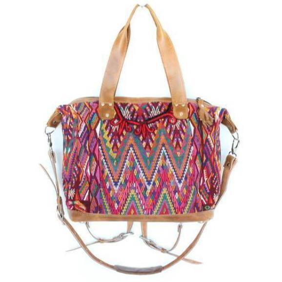 Antigua Convertible Carryall Guatemalan Bag 564