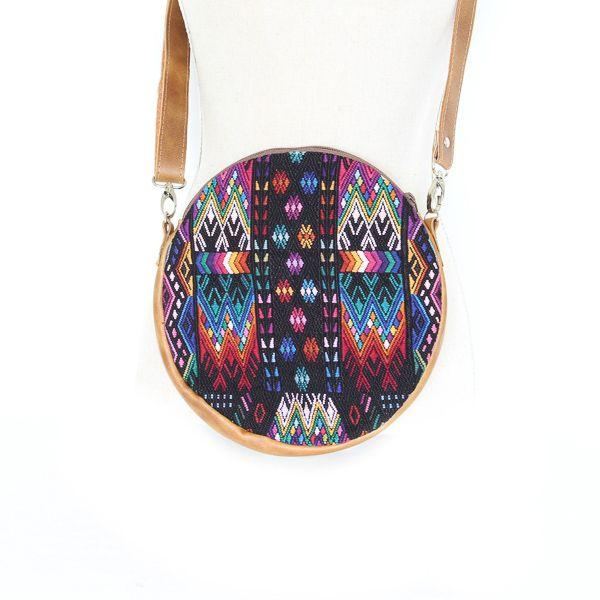 Antigua Embroidered Convertible Crossbody 3  Shoulder / Clutch / Belt Bag