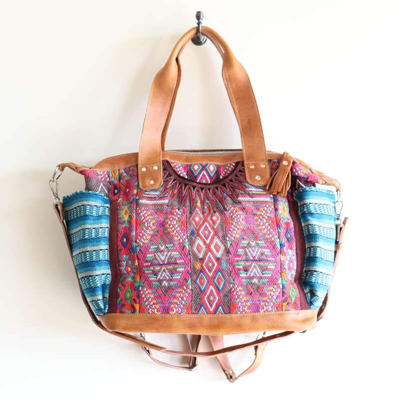 Guatemala convertible day bag - sundayisle