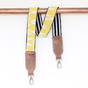 Sol Ikat Camera Strap - Sunshine